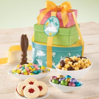 16 best tower of treats images on pinterest towers food gifts easter tower of treats gift gift baskets towers harry david negle Gallery