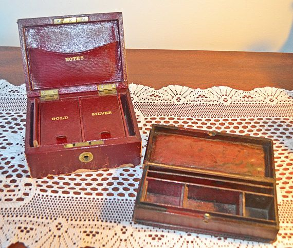 Check out this item in my Etsy shop https://www.etsy.com/ca/listing/495144468/vintage-leather-boxes-vintage-jewelry