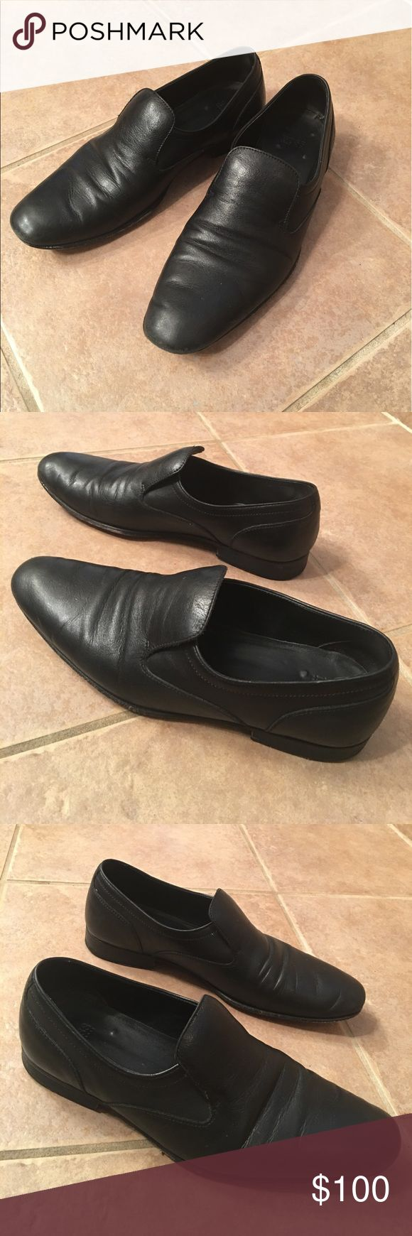 Hugo Boss men's slip on loafers GUC with imperfections as pictured Hugo Boss Shoes Loafers & Slip-Ons