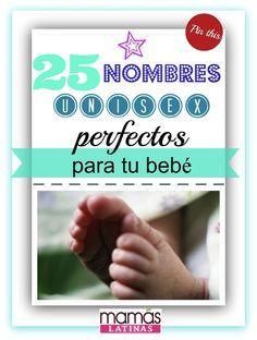 Ideas de nombres unisex para tu bebé