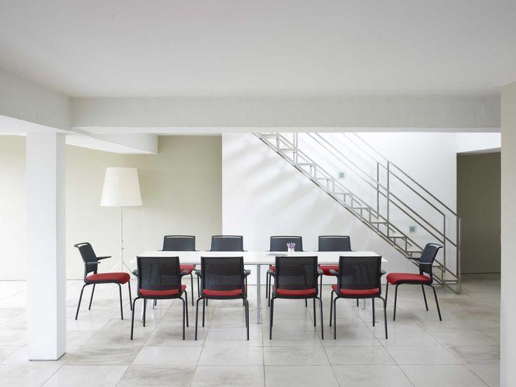 Zenith Interiors: Ad-Lib 4 Leg Frame Stacking Chair