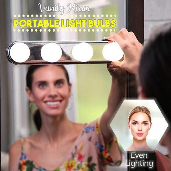 Vanity Mirror Portable Light Bulbs 50 Off Today In 2019