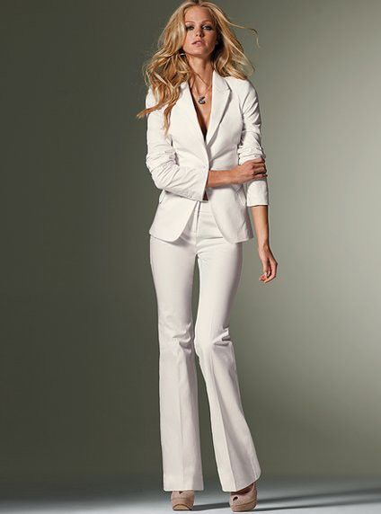 17 Best images about Winter White on Pinterest | Suits, Pants and ...