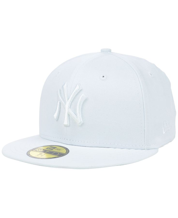 New Era New York Yankees White-On-White 59FIFTY Cap