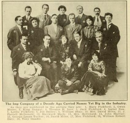 IMP Players Universal Observes Anniversary  - Universal City -  Moving Picture World (May 1919) - Carl Laemmle -