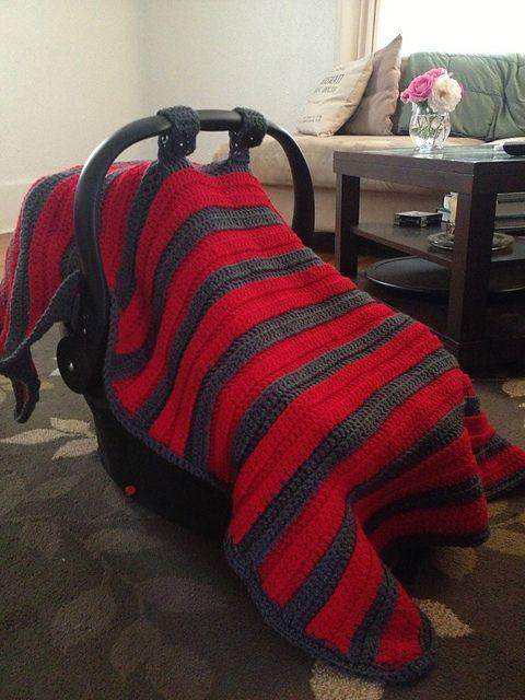 55 Best Crochet Carseat Stroller Blankets Images On Pinterest