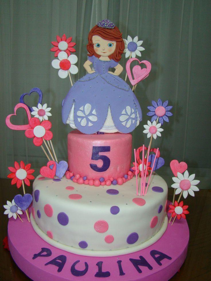 La Princesa Sofía   tortas decoradas   Pinterest