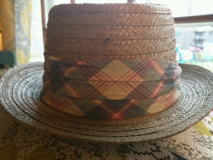 vintage mens hat Kevin McAndrews Street Fedora Rockabilly straw 50's