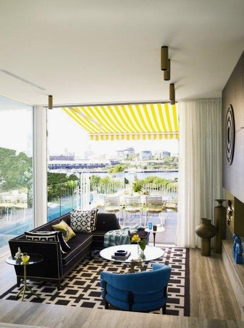 Inside/Out #Living Room Designed by Greg Natale