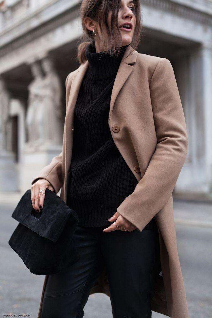 3 Ways To Style A Black Turtleneck
