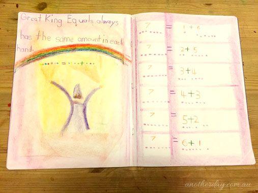 The Great King Equal, Waldorf math gnomes story