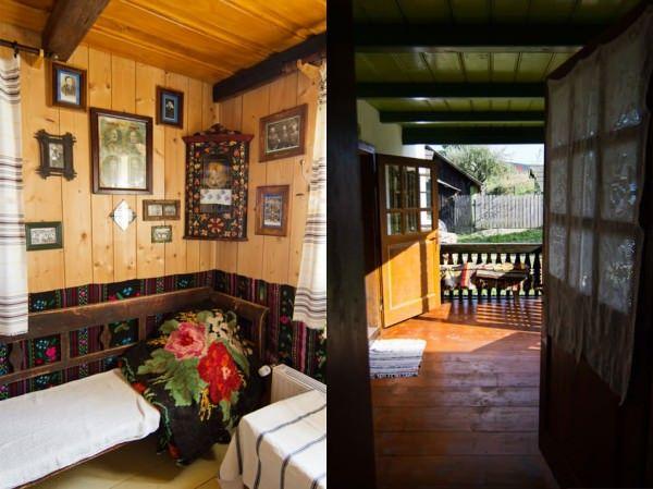 Maison traditionnelle Moldavie