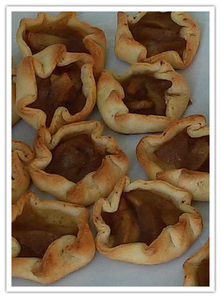 Mini Tartes de maçãs