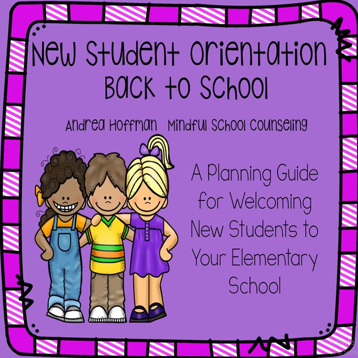 Everything you need to welcome new students to your school in the fall! Back to School New Student Orientation Welcome Program.