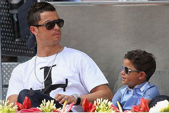Identity crisis: Cristiano Ronaldo's son has no idea who his mum is