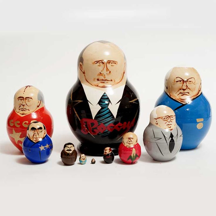 New Products. Putin and other Russian Political Leaders is a classical Russian political... http://russian-crafts.com/nesting-dolls/political/putin-and-russian-political-leaders.html