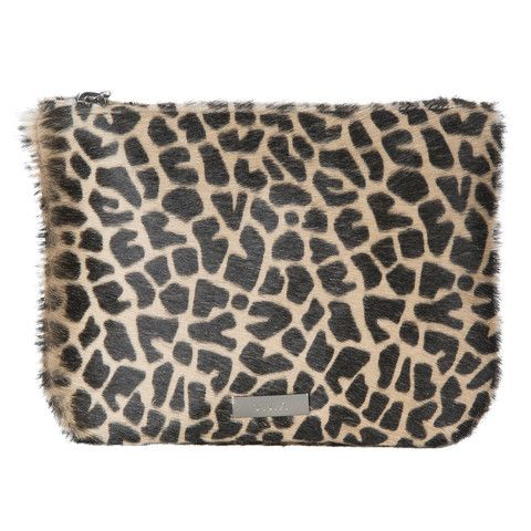 Animal Print Clutch - The Willow is a beautiful pouch style bag. It can be used as a mini clutch bag or is also the perfect insert for your VVA Totes to safely store away your valuables or even favourite cosmetics.  Available in a stunning selection of prints and leathers: www.vva.co.uk