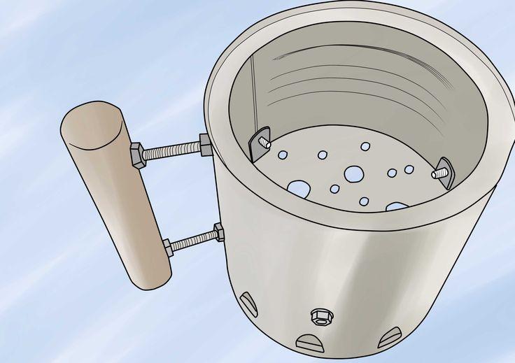 Make a chimney starter charcoal starter charcoal bbq