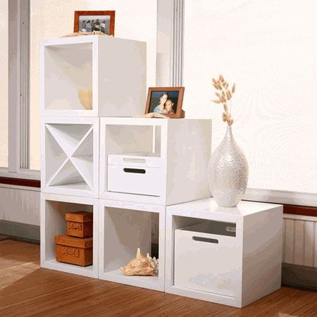 Cube Storage For At Bottom Of Stairs For The Home