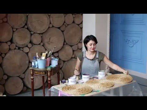 """Видео-совет Дарьи Гейлер """"Как перекрасить тумбочку из ламинированного ДСП без грунта и шлифовки"""" - YouTube"""