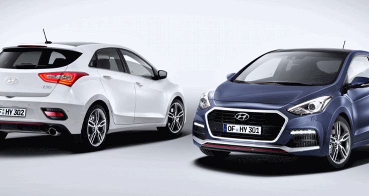 2015 Hyundai i30 Turbo Joins New i30 Five Door and Tourer in Europe i30 turbo photo