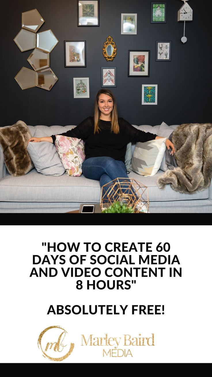 Are You Jumping Into The Social Media World And Need To Make Content Fast I M Marley Baird A Video Video Marketing Strategies Social Media Snapchat Marketing