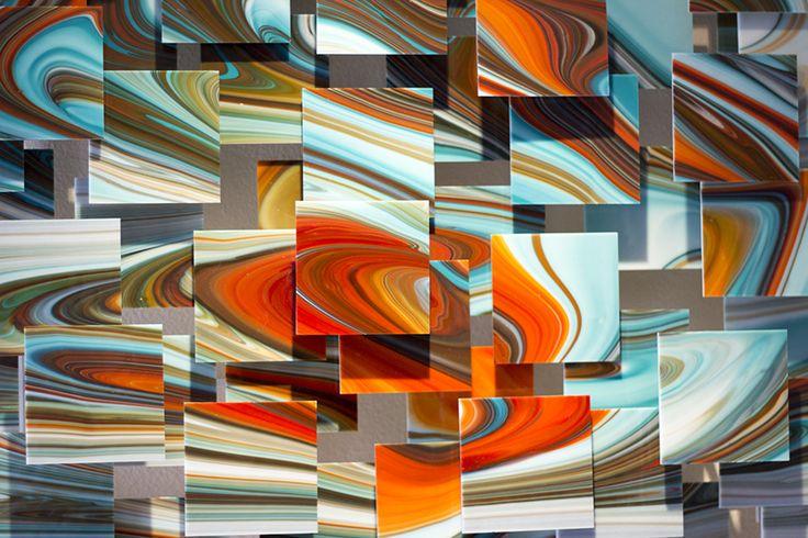 Groovy by Karo Martirosyan (Art Glass Wall Sculpture) | Artful Home