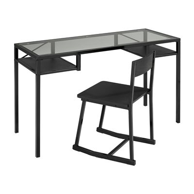 Brassex 27285 Office Desk and Chair Set