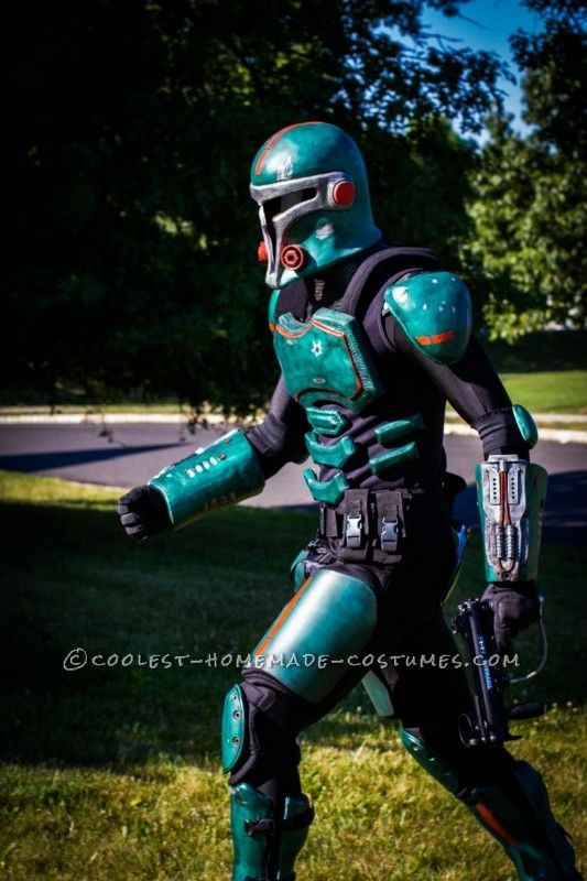 Amazing Hollywood Quality Sci-Fi Armor  All Homemade -5451