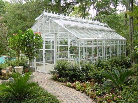 Um jardim para cuidar: Adoro estufas de jardim !