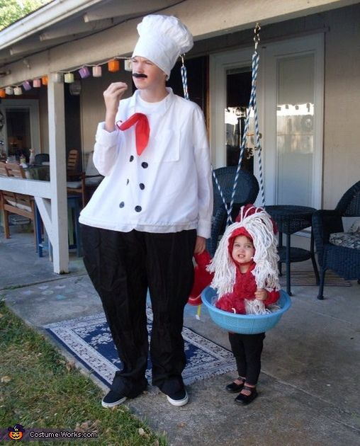 Spaghetti and meatballs 2013 halloween costume contest love this