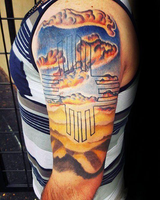 zia tattoo design men