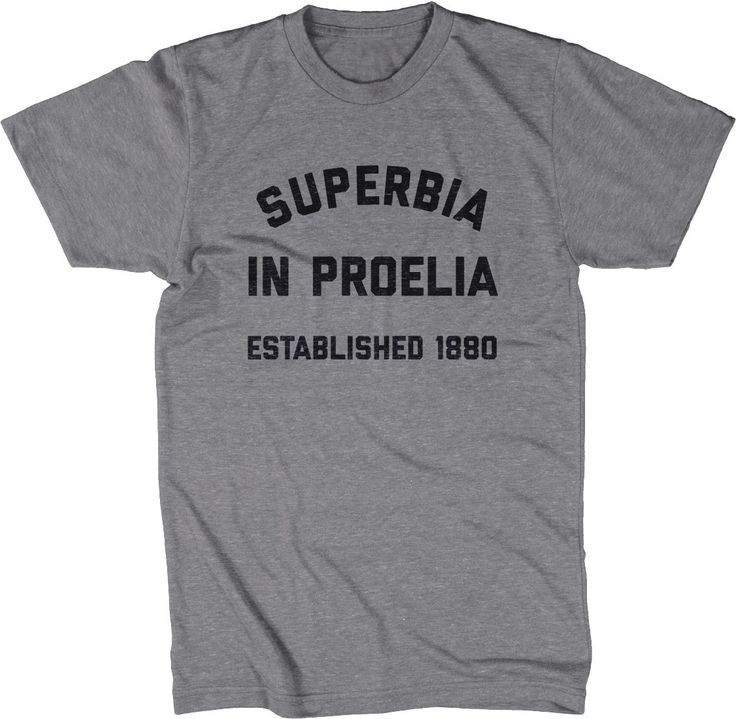 Manchester City FC Inspired T-Shirt - Superbia in Proelia