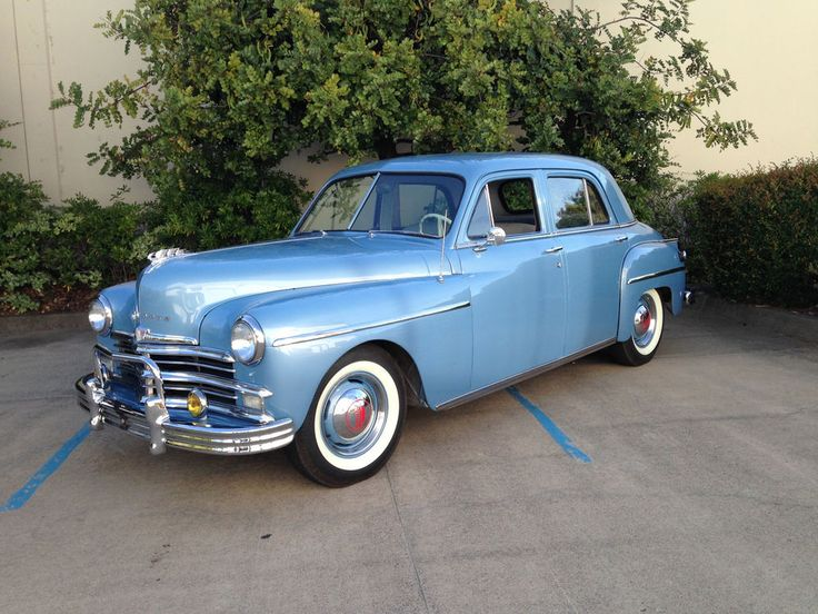 1000 images about klassic post war on pinterest for 1949 plymouth 4 door