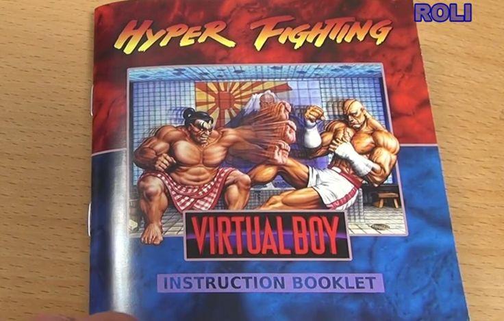 Street fighter virtual boy