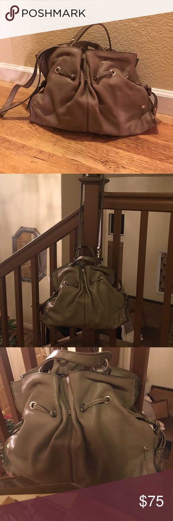 Vera Peli made in Italy and bought in Italy Italian handcrafted purse made in Italy and bought in Italy Full grain leather has a long strap. vera pelle Bags Totes