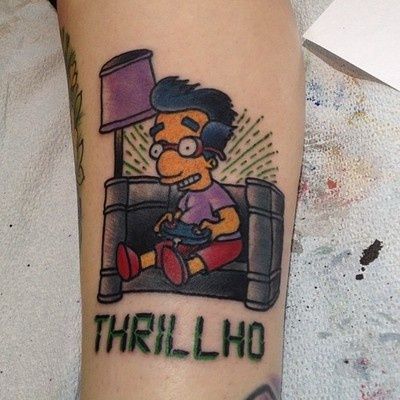 61 best the simpsons tattoos images on pinterest for Gastown tattoo shops