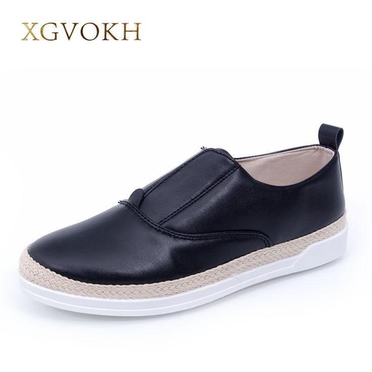 XGVOKH Brand women's Loafer superstar Straw Rope Lazy british style casual flats comfortable shoes for women Zapatos Hombre ** Ini pin AliExpress affiliate.  Klik tombol KUNJUNGI untuk penjelasan rinci