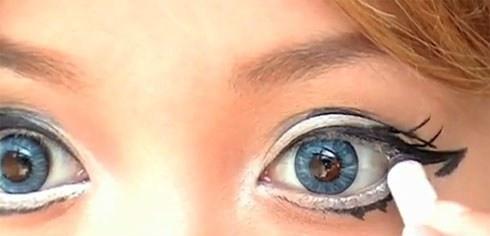 Как создать азиатский разрез глаз