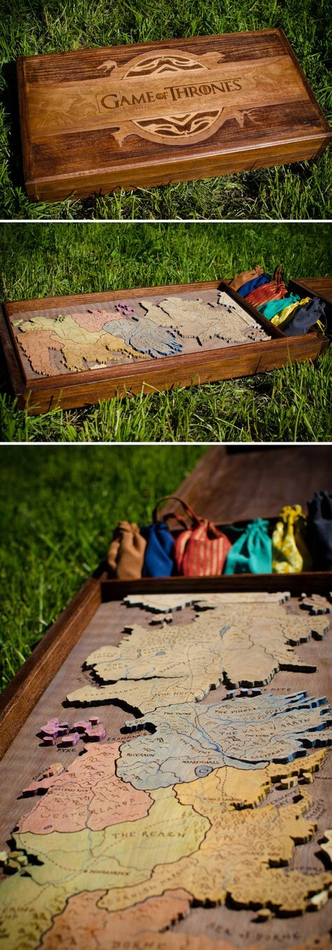 Handmade Game of Thrones, RISK board game.