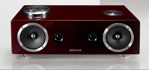 Samsung Vacuum Tube Airplay Speaker Dock