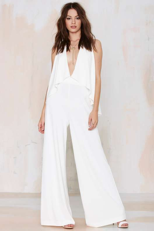Nasty Gal Name of Love Cape Jumpsuit
