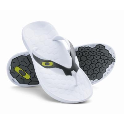 Oakley Operative 2 Mens Flip Flops White WAS £29.99 sandals, beach shoes  reef £
