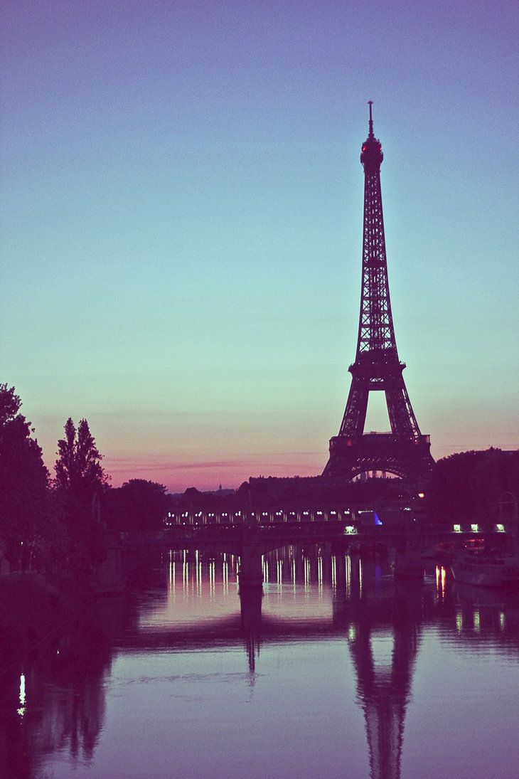 Sunrise on Paris by ~19Benny60 on deviantART