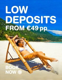 Cheap holidays from Ireland | All inclusive deals | lowcostholidays