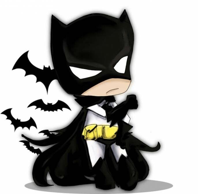 Batman cartoon sooo cute   Batman lovers ♡♥♡♥   Pinterest