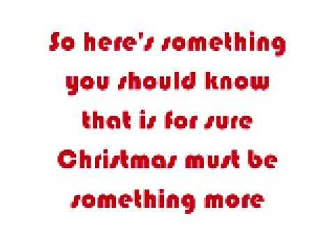 Taylor Swift - Christmas Must Be Something more [with lyrics]. This is an awesome song! I was rocking out to it this summer!