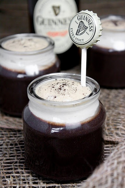 Guinness Chocolate Pudding or Chocolate Guinness Goodness   Guinness ...