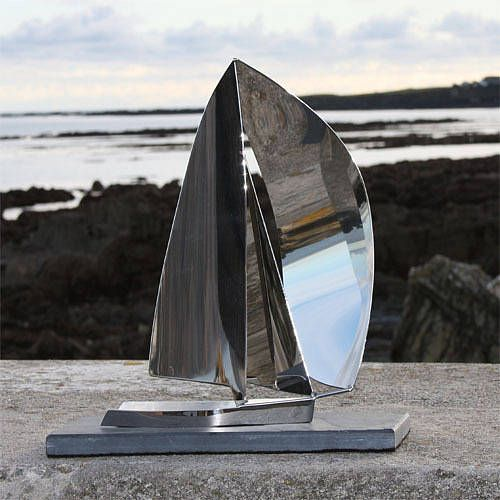 rs feva sculpture by richard vasey yacht sculptures | notonthehighstreet.com