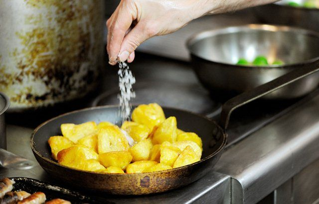 How to Cook Goose Fat Roast Potatoes - Great British Chefs